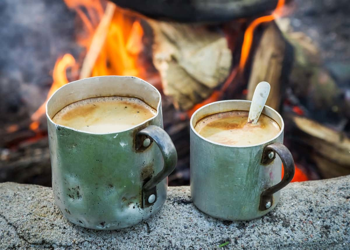 Coffee for camping