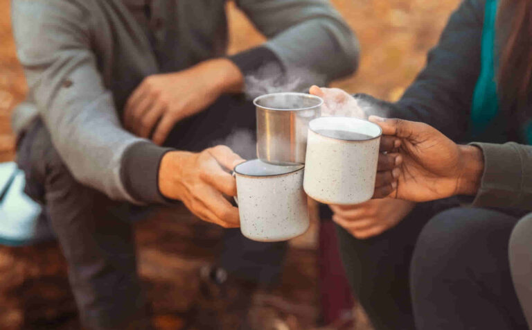 How To Make Easy Coffee When Camping Outdoors
