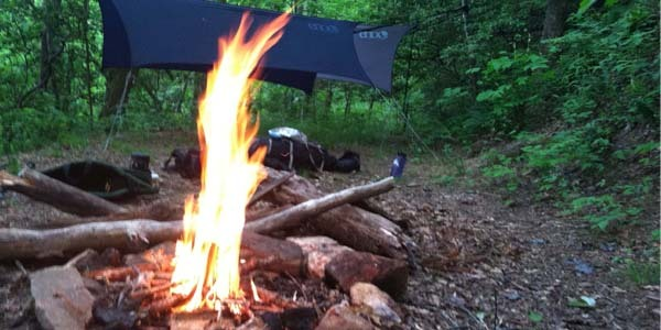 firewood camping
